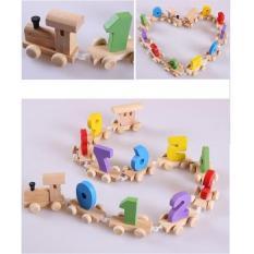 Đoàn tàu số từ 0 – 9 – phương pháp đồ chơi giáo dục