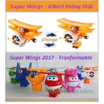 Đội bay siêu đẳng Super wings - Albert thông thái