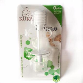 Dụng cụ uống thuốc Kuka Nhật Bản - An toàn cho bé