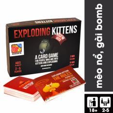 Exploding Kittens – Mèo Nổ Cảm Tử phiên bản 18+