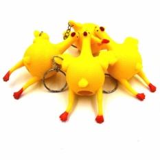 Tri ân khách hàng nhân dip sinh nhật LAZADA đồng giá 10k Gà đẻ trứng làm đồ chơi xả stress / Đồ chơi điện thoại/ Móc khóa