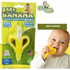 Gặm Nướu Và Bàn Chải Cho Bé Baby Banana (Mỹ)