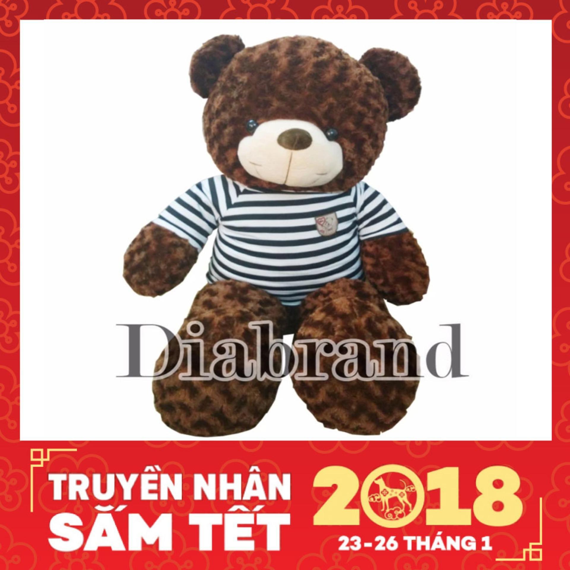 Giá Gấu bông Teddy khổ 1m cao 80cm -TEDDY08 (nhà bán hàng Diabrand)