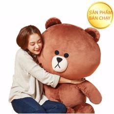 Gấu bông Line Brown cao cấp khổ vải 1M4 màu nâu-GB1M2