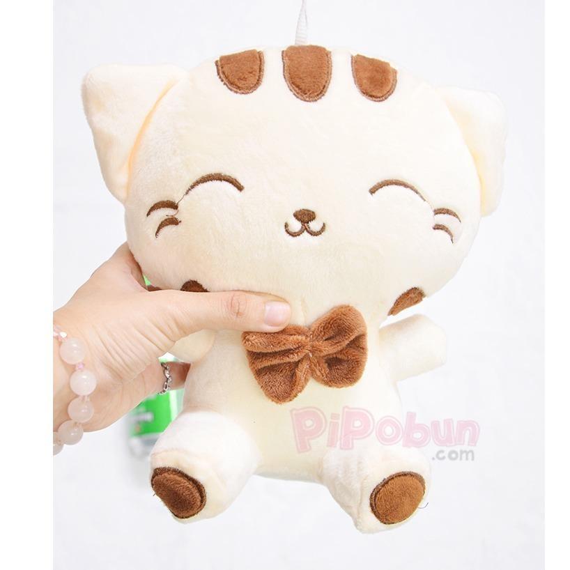 Gấu bông Pipobun Mèo Meng Meng size nhỏ XS