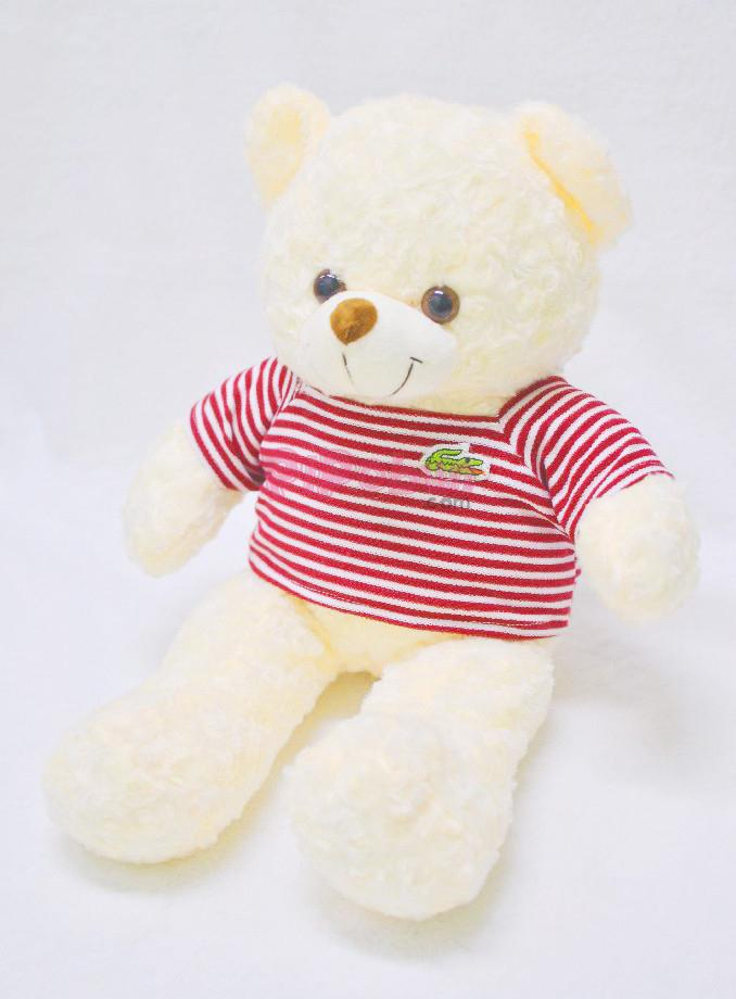 Gấu bông TEDDY màu kem Pipobun size 50cm – P02025001550383