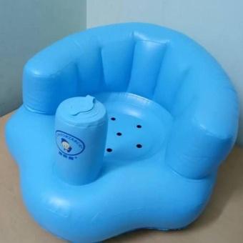 Ghế hơi tập ngồi cho bé (xanh dương)