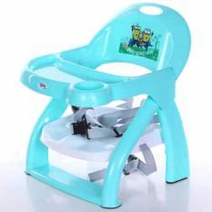 Ghế ngồi ăn dặm cho bé có thể gấp gọn (Màu xanh) – Kmart