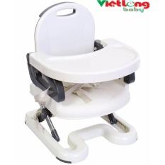 Ghế ngồi ăn điều chỉnh độ cao Mastela 07110 cho bé 6m-4t (Mầu ghi)
