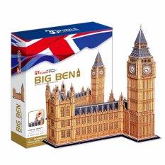 Ghép hình giấy 3D CubicFun Tháp đồng hồ Big Ben (UK) MC087h 116 mảnh