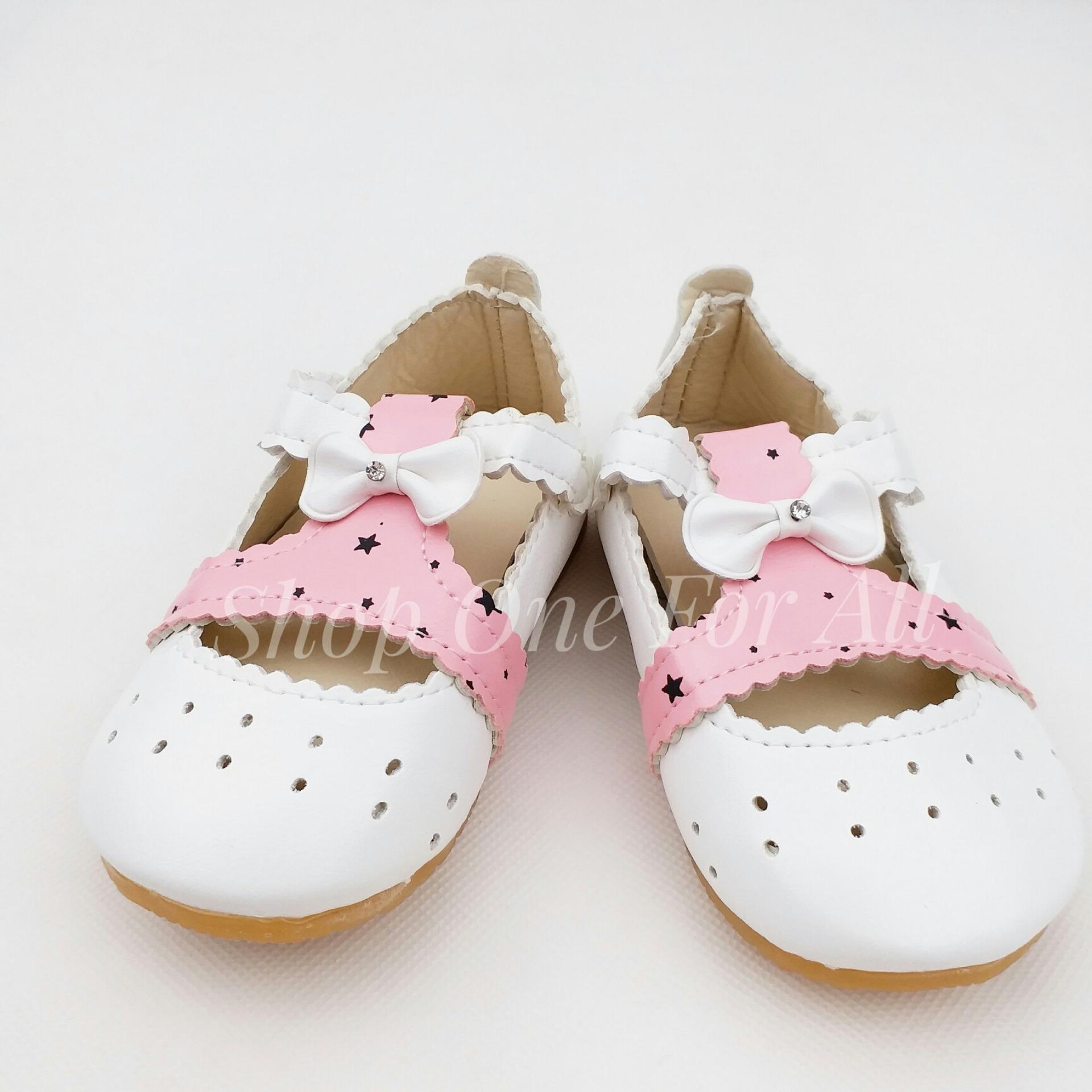 Giày dép bé gái - Giày đế bệt bé gái - Giày búp bê bé gái ONEFORALL (02 màu)