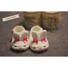 Giày len Ondo – Thỏ trắng