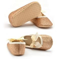 giày nhũ tập đi cho bé