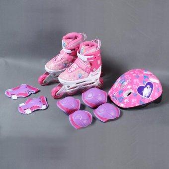 Giày patin Disney Barbie DCY41181-B (Hồng) 31/34 - 5