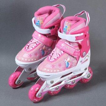 Giày patin Disney Barbie DCY41181-B (Hồng) 31/34 - 4
