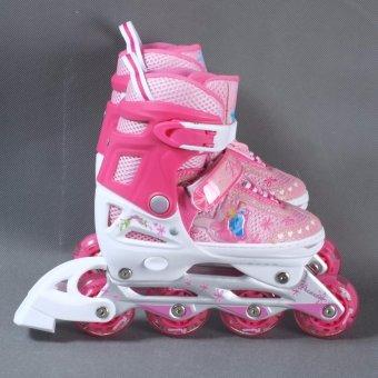 Giày patin Disney Barbie DCY41181-B (Hồng) 31/34 - 3
