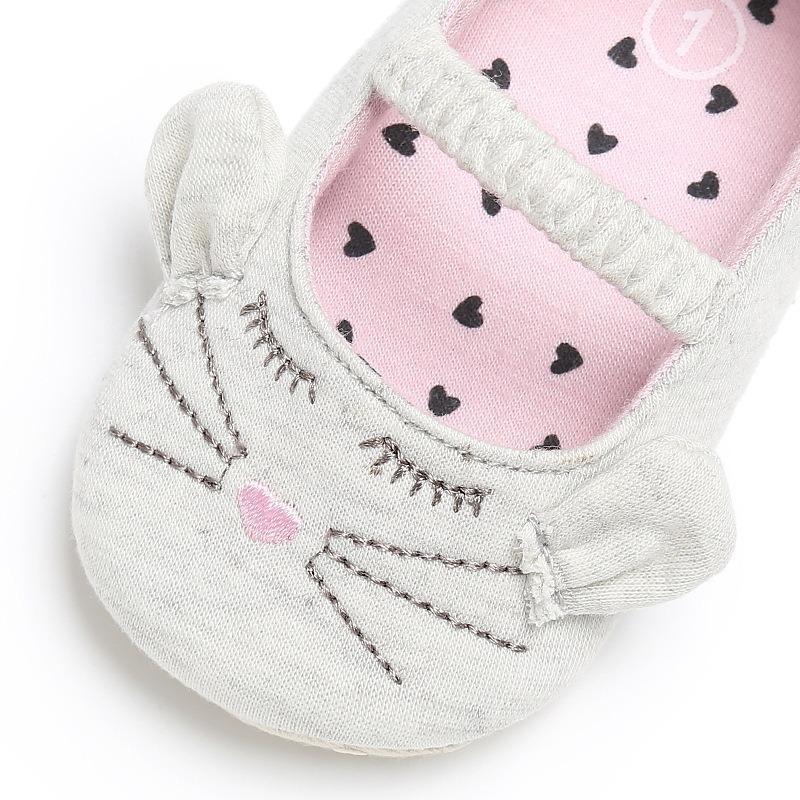 giày tập đi hình thú cho bé gái