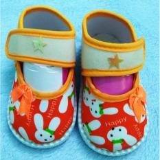 Giày tập đi cho bé Ms 01 (Cam)