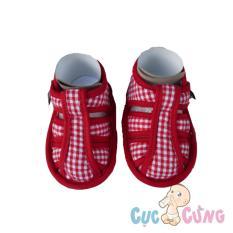 Giày tập đi Fany GV6 _ 140 – màu đỏ