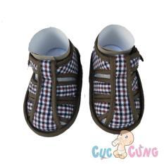 Giày tập đi Fany GV6 _ 150 – màu nâu