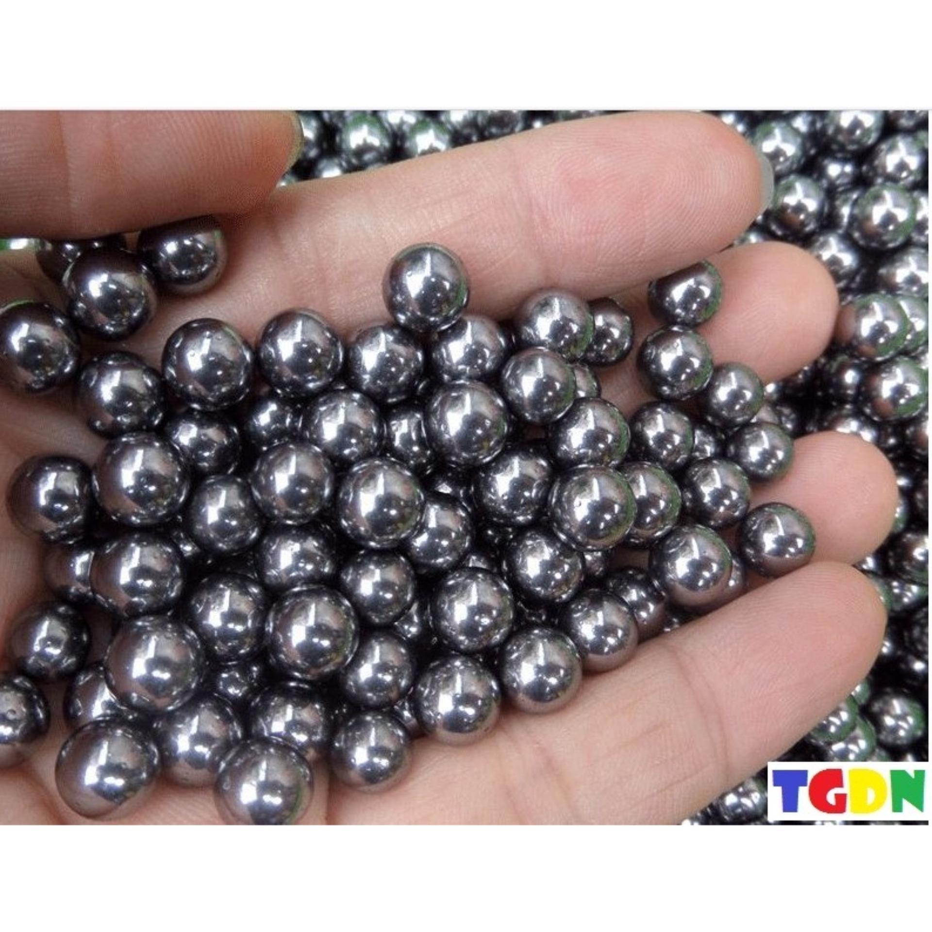 Gói 100 viên hạt đạn đồ chơi tiêu chuẩn cho các loại ná và Pocket Shot (Bạc)