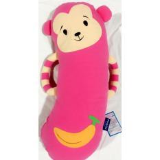 Gối con khỉ Pinkiss ( đỏ, hồng, xanh lá, xanh dương, xanh ngoc)