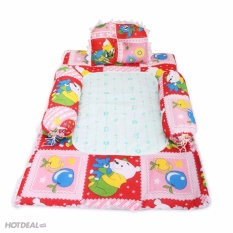 Bộ Gối nệm 4 món cho bé xinh xắn Winter Fun dành cho bé 1 tháng – 3 tuổi
