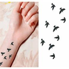Hình Xăm Dán Đàn Chim