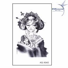 Hình xăm dán nam nữ cá tính phong cách Hàn Quốc – AQ-A043