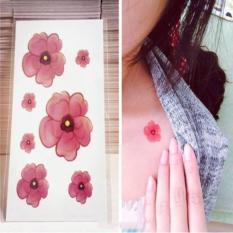 Hình Xăm Dán Tattoo Hoa Mùa Thu