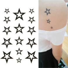 Tư vấn mua Hình Xăm Dán Tattoo Ngôi Sao trắng