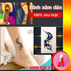 Hình xăm dán tattoo cao cấp – Nghệ Thuật – Con Cáo