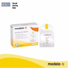 Hộp 20 Túi Trữ Sữa Medela – Hàng phân phối chính thức Medela Thụy Sĩ