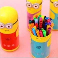 Hộp bút 24 màu (bút dạ)