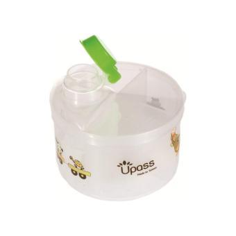 Hộp chia sữa tròn 4 ngăn không BPA Upass UP8005CX