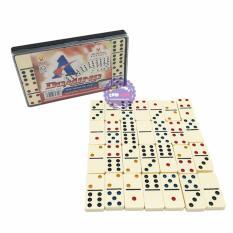 Hộp đồ chơi bộ cờ Domino Ngà Lớn Melamine Liên Hiệp Thành – ĐỒ CHƠI CHỢ LỚN