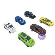 Hộp đồ chơi các loại xe hơi bằng sắt 6 chiếc Die-Cast – ĐỒ CHƠI CHỢ LỚN