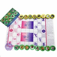 Hộp đồ chơi cờ 2 trong 1 – Cờ Thú Và Cờ Đoán