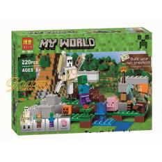 Hộp xếp hình MineCraft My World 10468 – Hộ vệ sắt khổng lồ Iron Golem