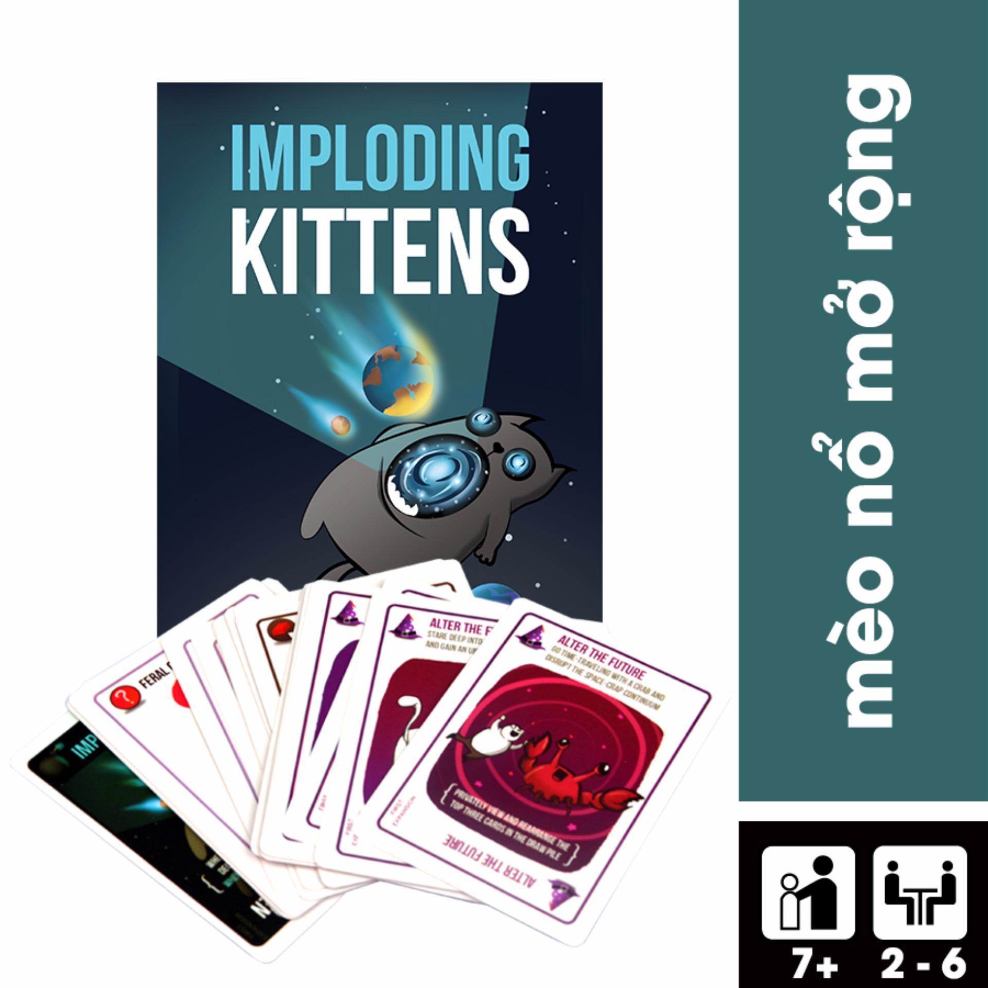 So Sánh Giá Imploding Kittens – Mèo Nổ Bản Mở Rộng #3
