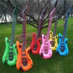 Inflatable Instruments Party Favors Photo Booth Props Guitar PVC Material Toy – intl