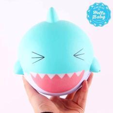 Jumbo Squishy - Cá mập khổng lồ (15x15cm)  / Hello Baby