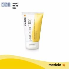 Kem chống nứt đầu ti Medela Purelan100 37g – Hàng phân phối chính thức Medela Thụy Sĩ