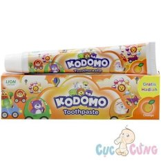 Kem đánh răng trẻ em Kodomo hương cam không cay – kem danh rang cho be
