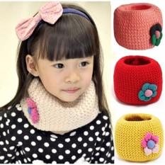 Khăn len ống cho bé giá rẻ Vega365/khăn len cho bé tphcm (Màu ngẫu nhiên)