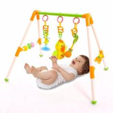Khung treo đồ chơi có nhạc cho bé yêu phát triển giác quan (MÀU NGẪU NHIÊN)