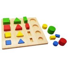 Lắp Ráp Hình Học 2 Tottosi toys