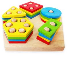 Lắp Ráp Hình Học 7 Tottosi toys
