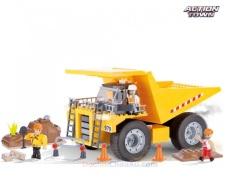 Lắp ráp khối Lego Xe ben công nghiệp COBI 300 miếng (Made In EU)