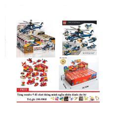 Lego xếp hình combo 2 bộ xếp hình lego Enlighten1801+Kazi80511
